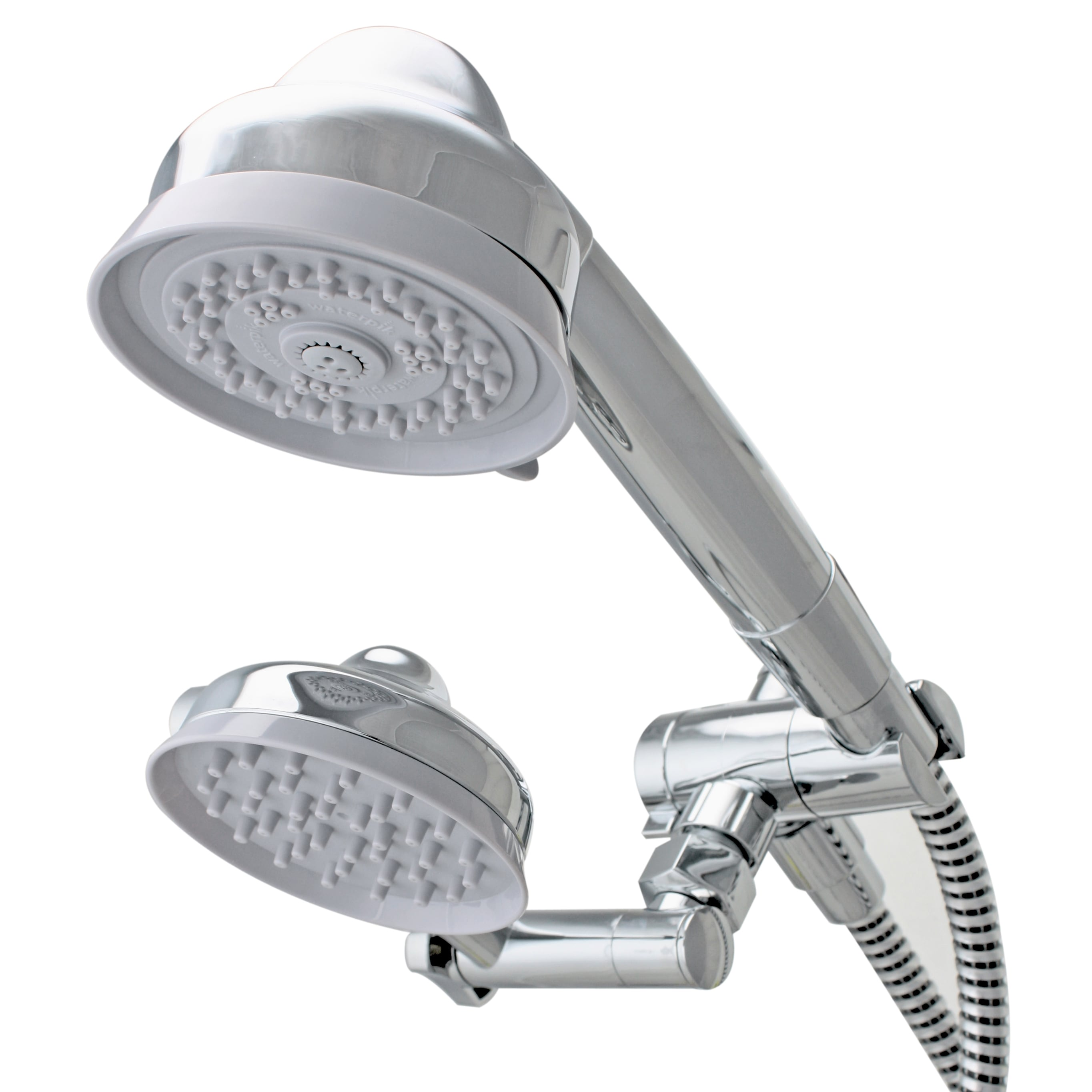 Waterpik EcoFlow Combination Hand Shower With High Low Adjustable Rainshower