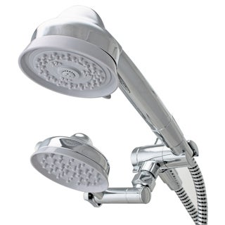 Waterpik EcoFlow Combination Hand Shower with High-low Adjustable Rainshower Head