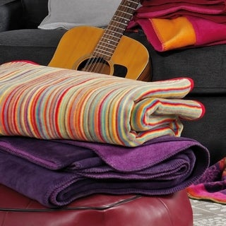 Messina Sunset Stripe Oversized Throw