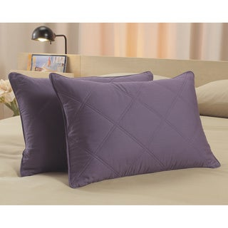 Hotel Madison 300 Thread Count Decorative Feather Pillows (Set of 2)