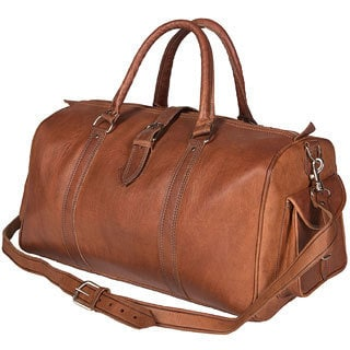 Leather Duffle Bag (Morocco)