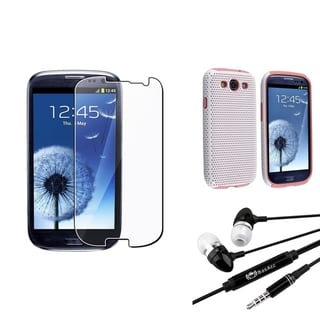 BasAcc Case/ Screen Protector/ Headset for Samsung� Galaxy SIII/ S3