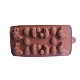 Easter Theme Chocolate Silicone Mold Baking Pans