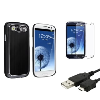 BasAcc Protector Case/Screen Protector/Cable for Samsung� Galaxy S3 i9300