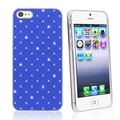 BasAcc Blue Lattice Diamond Snap-on Case for Apple iPhone 5