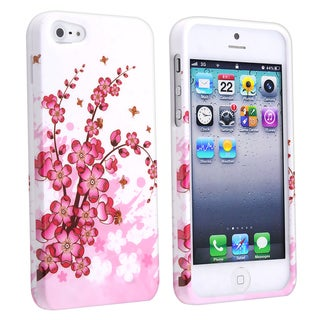 BasAcc Spring Flowers Snap-on Case for Apple iPhone 5