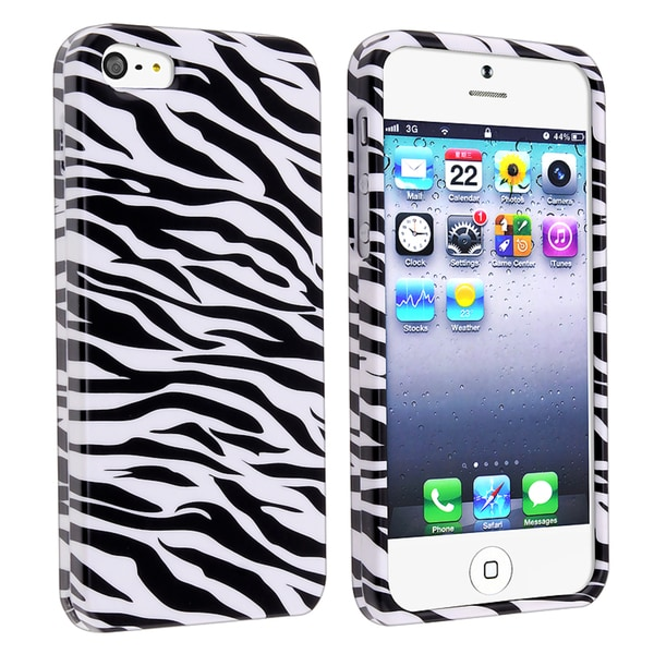 BasAcc Zebra Skin Snap-on Case for Apple iPhone 5