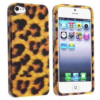 BasAcc Leopard Skin Snap-on Case for Apple iPhone 5
