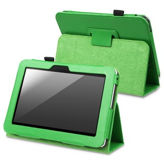 INSTEN Green Leather Phone Case Cover with Stand for Amazon Kindle Fire HD 7-inch