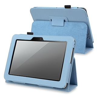 BasAcc Blue Leather Case with Stand for Amazon Kindle Fire HD 7-inch