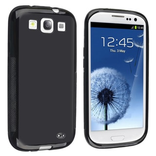 BasAcc Black TPU Case for Samsung Galaxy S III/ S3 i9300