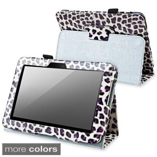 BasAcc Black Leather Case with Stand for Amazon Kindle Fire HD 7-inch