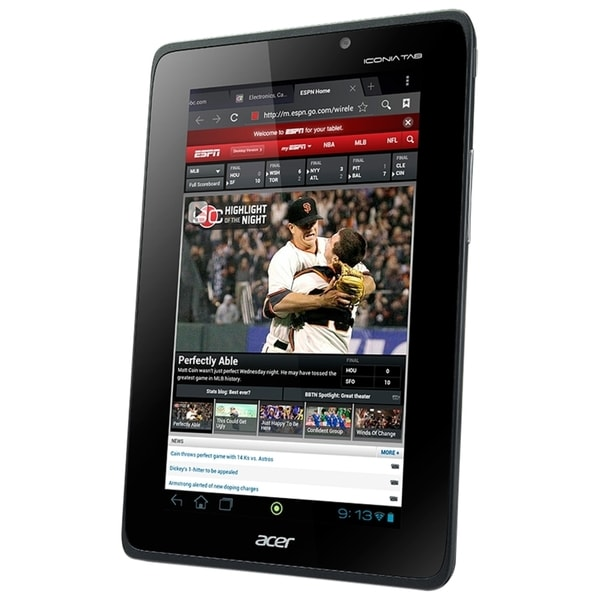 "Acer ICONIA Tab A110-07g08u 8 GB Tablet - 7"" - Wireless LAN - NVIDIA"