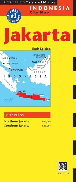 Periplus Travel Maps Jakarta: Indonesia City Map (Sheet map, folded)