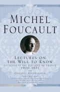 Lectures on the Will to Know (Hardcover)