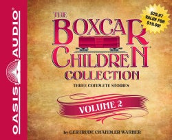 The Boxcar Children Collection: Mystery Ranch, Mike's Mystery, Blue Bay Mystery (CD-Audio)