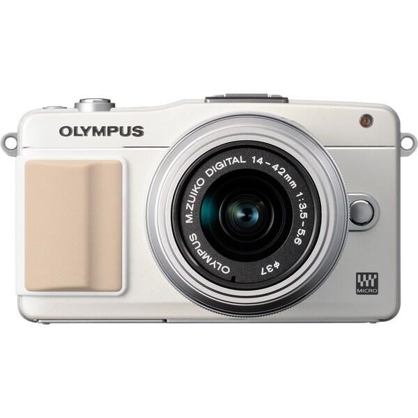 Olympus PEN E-PM2 16.1 Megapixel Mirrorless Camera Body Only - White