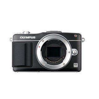 Olympus E-PM2 Mirrorless Micro Four Thirds Digital Camera Black Body