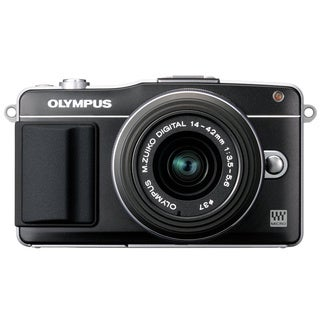 Olympus PEN E-PM2 16.1MP Mirrorless Camera with 14-42mm f 3.5 II Lens