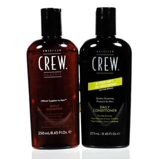 American Crew Daily Shampoo & Conditioner 8.4-ounce Duo