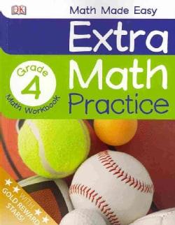 Extra Math Practice, Grade 4 (Paperback)