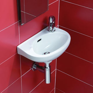 Nila Wall-mount Ceramic Sink