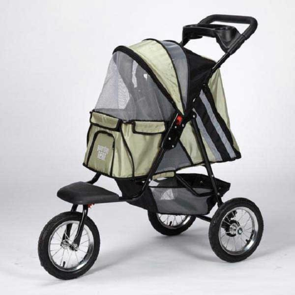 Guardian Gear Sage Green Sprinter EXT II Pet Stroller