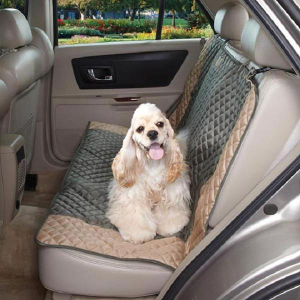 Guardian Gear Moss Green Fairfield Car Back Seat Cover