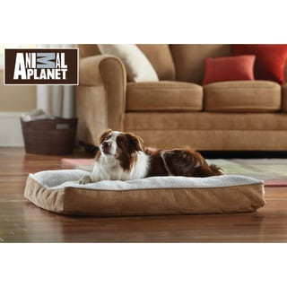 Animal Planet Large Memory Foam Sherpa Pet Bed