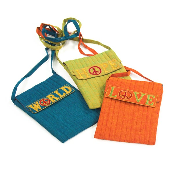 World Peace Cotton Handbags (India)