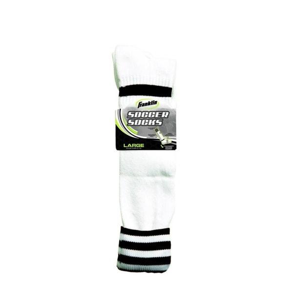 Black/White Adult Soccer Socks (Pack 6)