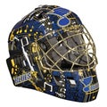 NHL Team St. Louis Blues SX Comp GFM 100 Goalie Face Mask