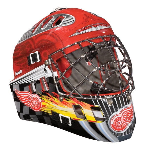 NHL Team Detroit Red Wings SX Comp GFM 100 Goalie Face Mask