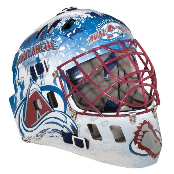 NHLTeam Colorado Avalanche SX Comp GFM 100 Goalie Face Mask