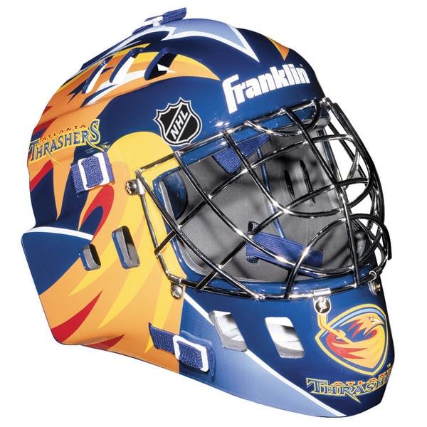 NHL Team Atlanta Thrashers SX Comp GFM 100 Goalie Face Mask