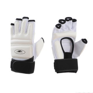 Lion Martial Arts White Extra Large KD Hand Protectors (Set of 2)