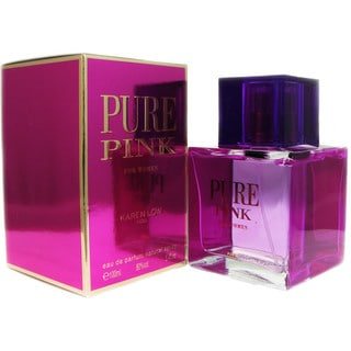 Pure Pink for Women by Karen Low 3.4-ounce Eau de Parfum Spray