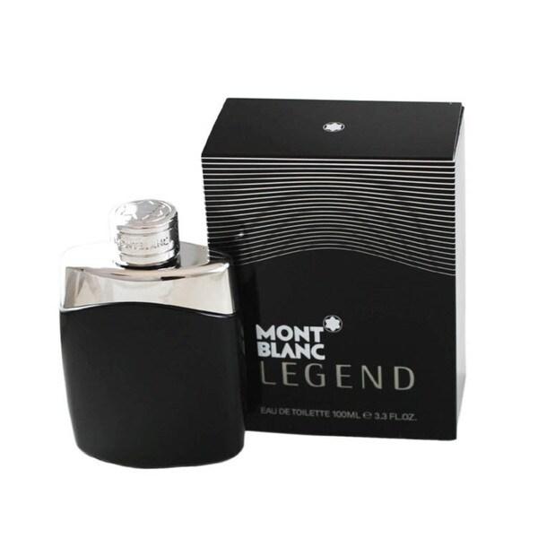 Mont Blanc Legend Men's 3.3-ounce Eau de Toilette Spray