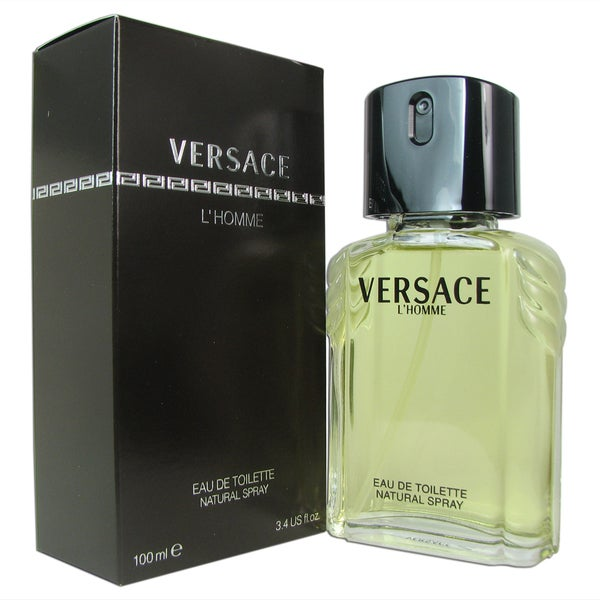 Versace L'Homme for Men 3.4-ounce Eau de Toilette Spray