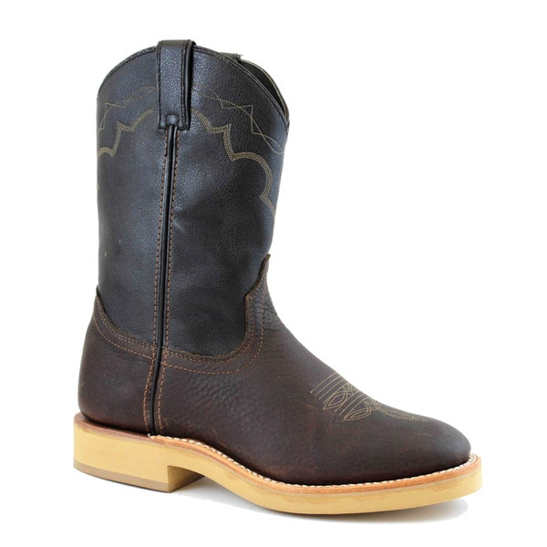 AdTec Men's Western Ranch Wellington Boots