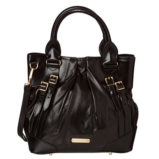 Burberry '3826611' Small Leather Whipstitch Tote Bag
