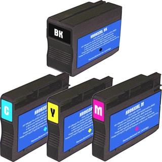 HP 932XL 933XL Black Colors Ink Cartridge Pack of 4 (Remanufactured)