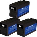 HP 932XL Black Ink Cartridge Pack of 3 (Remanufactured)