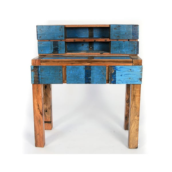 Ecologica Reclaimed Wood Study Desk