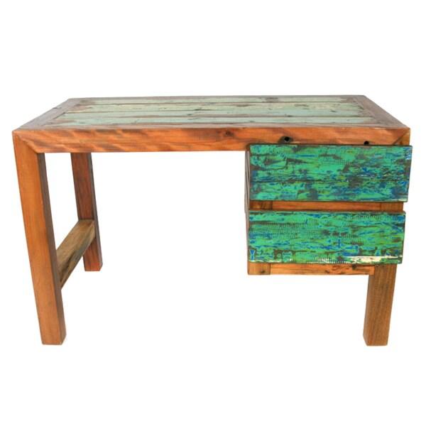 Ecologica Reclaimed Wood Office Desk - 14819175 - Overstock Shopping ...