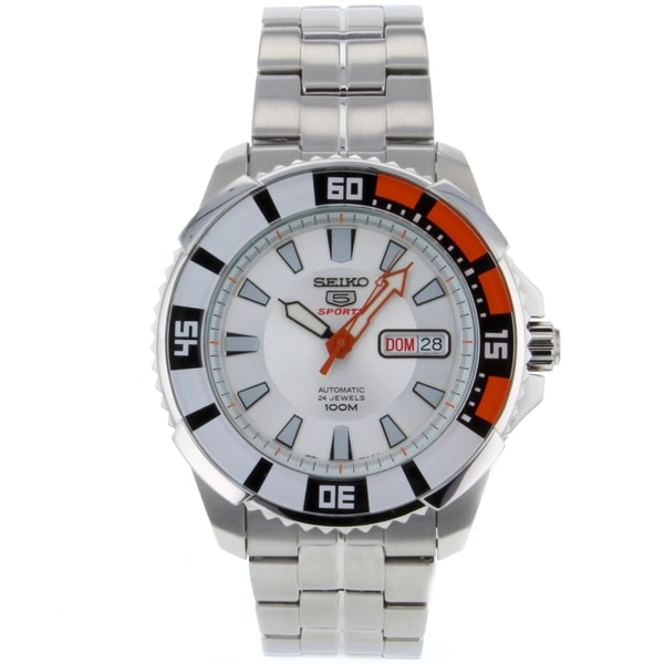 Seiko Men's 5 Stainless Steel Watch