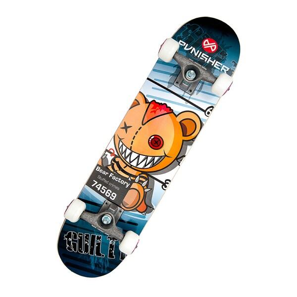 Punisher Skateboards Guilty 31-inch Complete Skateboard