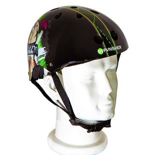 Punisher Skateboards Jinx 11-vent Medium Skateboard Helmet