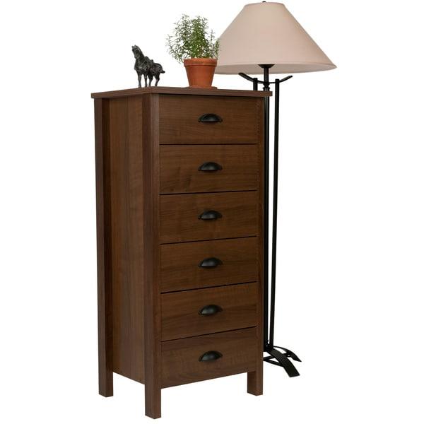 Venture Horizon Walnut 6-drawer Dresser