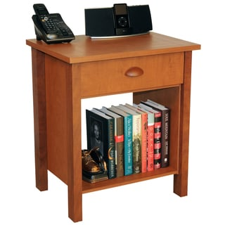 Venture Horizon Cherry Finish Nouvelle Nightstand
